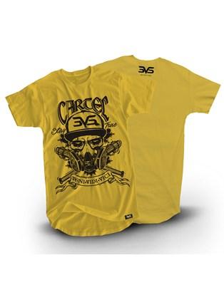 Camiseta Amarela Cartel