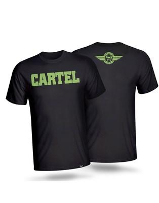 CAMISETA CARTEL PRETA 3VS