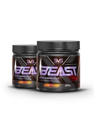 Combo 2X Pré Treino Beast 3VS