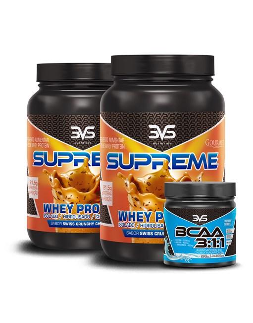Combo Whey Supreme + BCAA