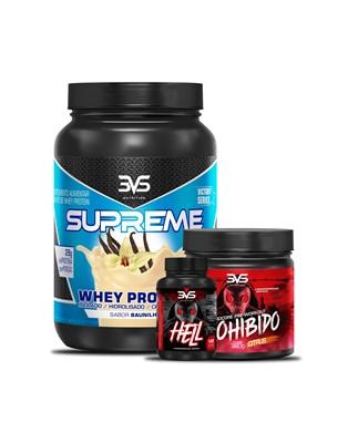 Combo Whey Supreme + Prohibido + Hell